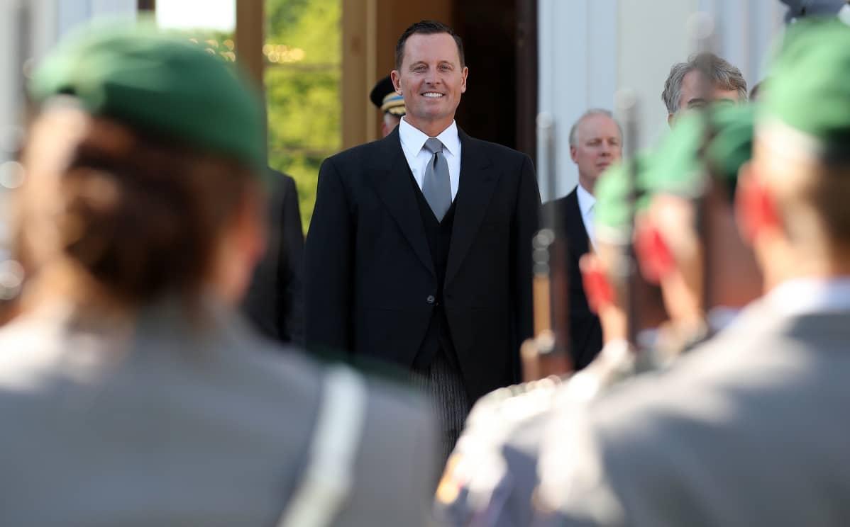 Yhdysvaltain uusi Saksan-suurlähettiläs Richard Grenell.