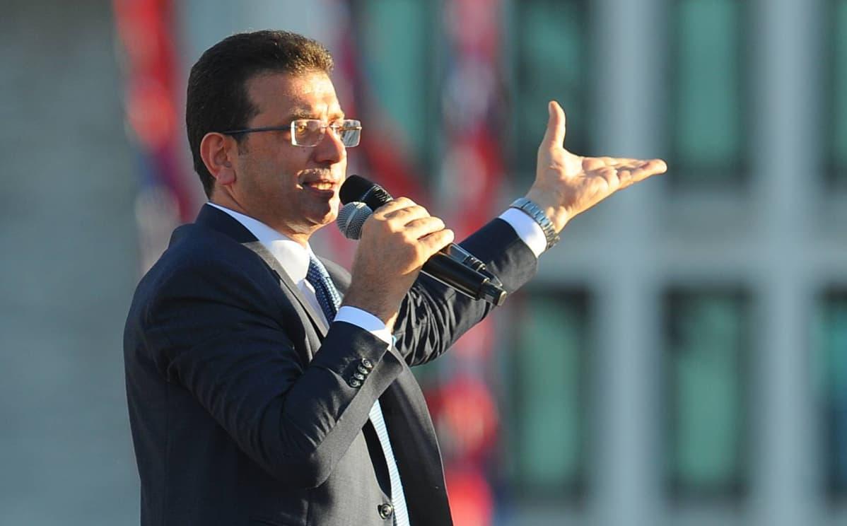 Istanbulin kaupunginjohtaja Ekrem Imamoglu