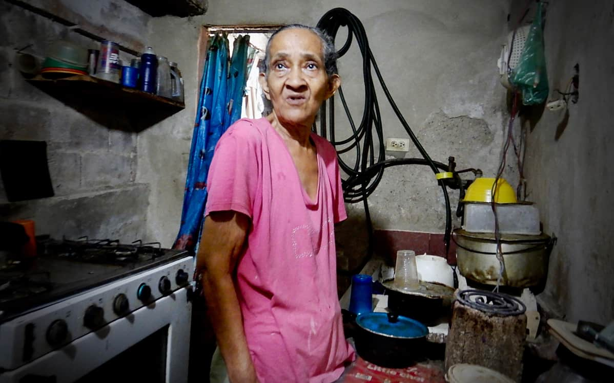 Arcadia Herrera keittiössä