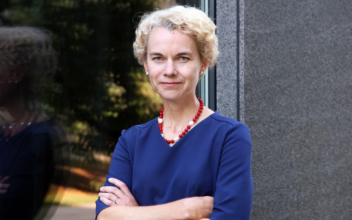 Viron ulkopoliittisen instituutin johtaja Kristi Raik.
