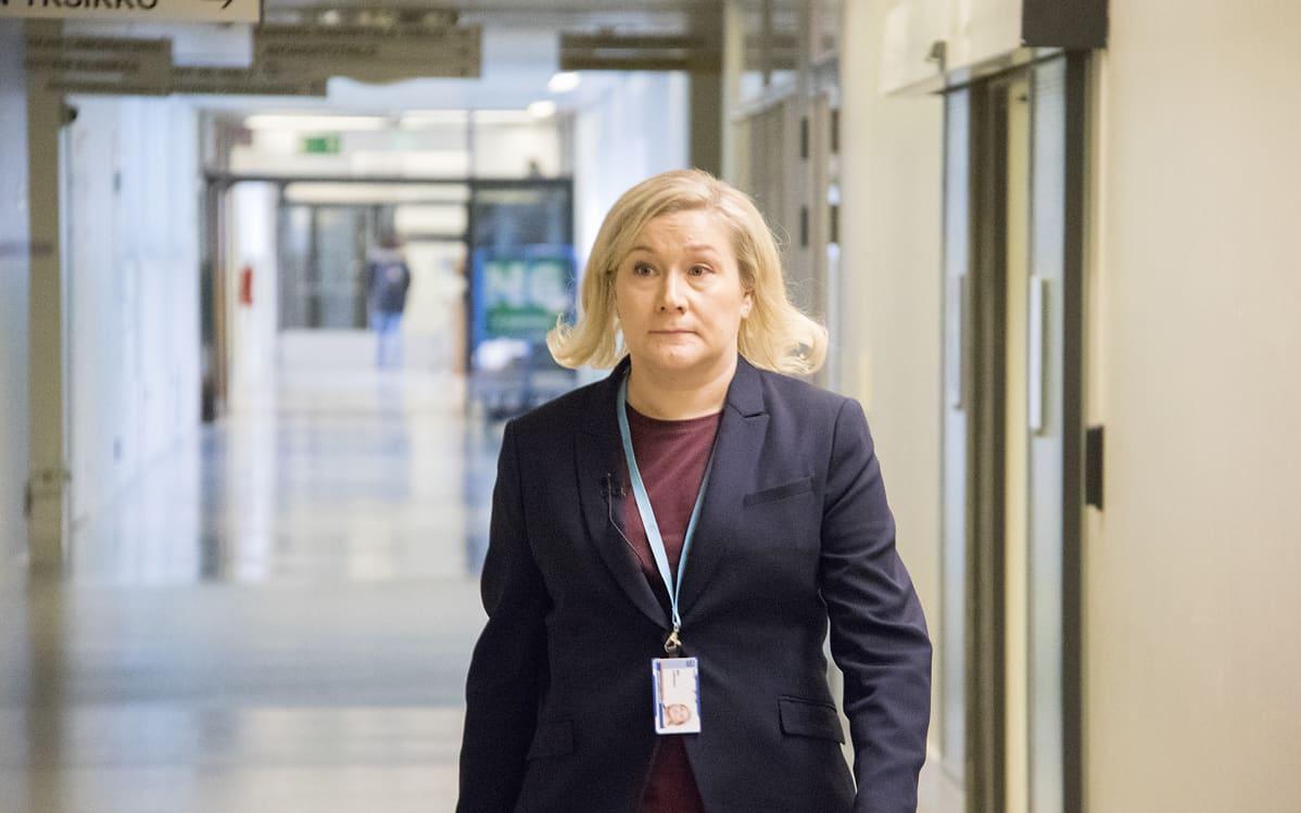 Arviointiylilääkäri Miia Turpeinen.