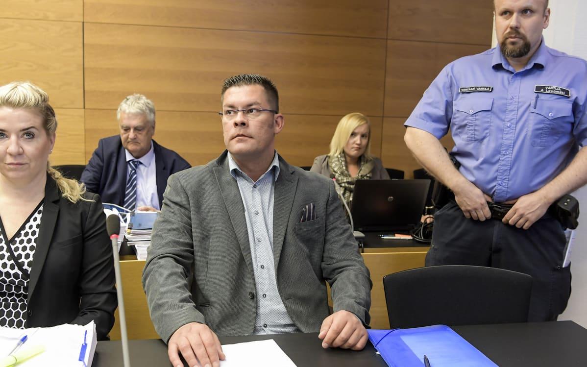 Ilja Janitskin oikeudessa 13. kesäkuuta.
