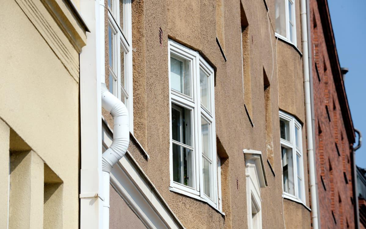 Kerrostaloja Töölössä Helsingissä