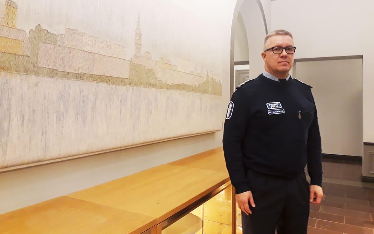 Oulun seksuaalirikostapausten tutkinnanjohtaja Markus Kiiskinen