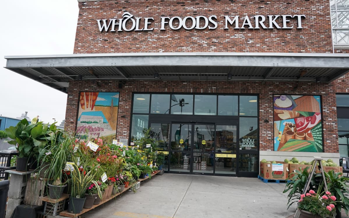 Whole Foods Market -ruokakauppa.