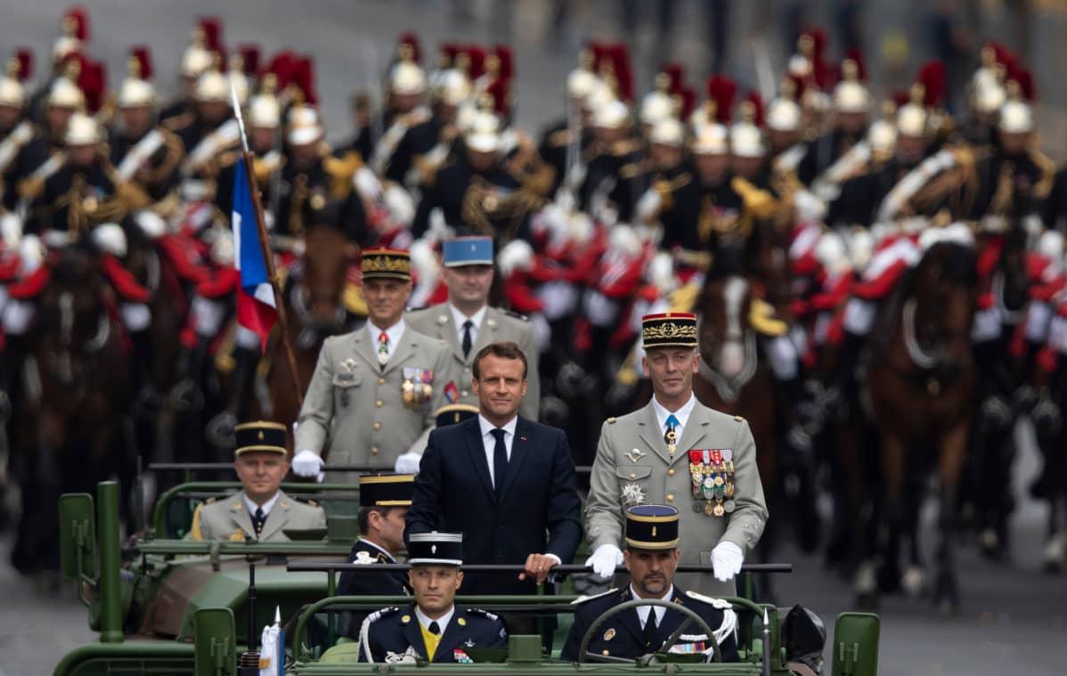 Pariisi, Emmanuel Macron