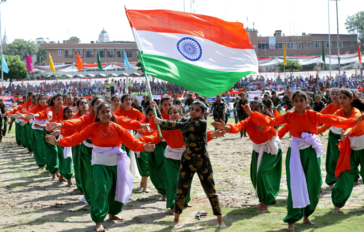 Intia juhlii itsenäisyyspäivää