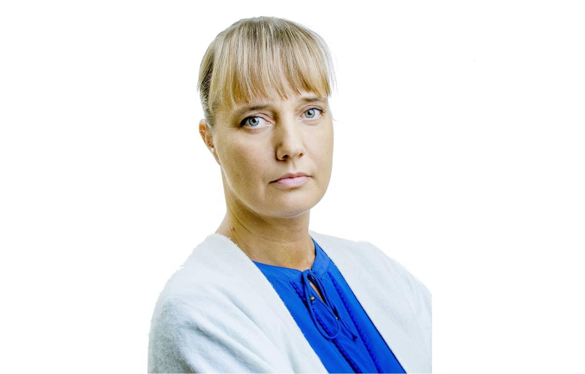 Johtaja, liikenneneuvos Sabina Lindström.