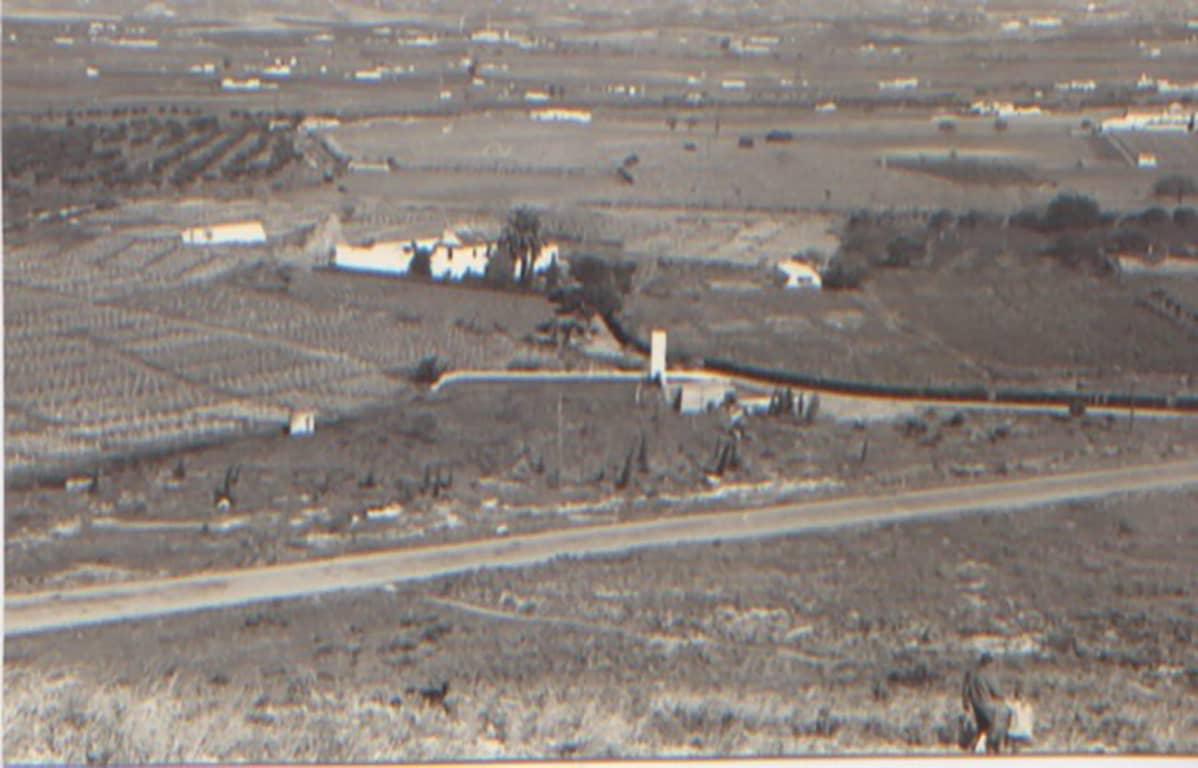 Hallamaiden koti Churrianassa vuonna 1954