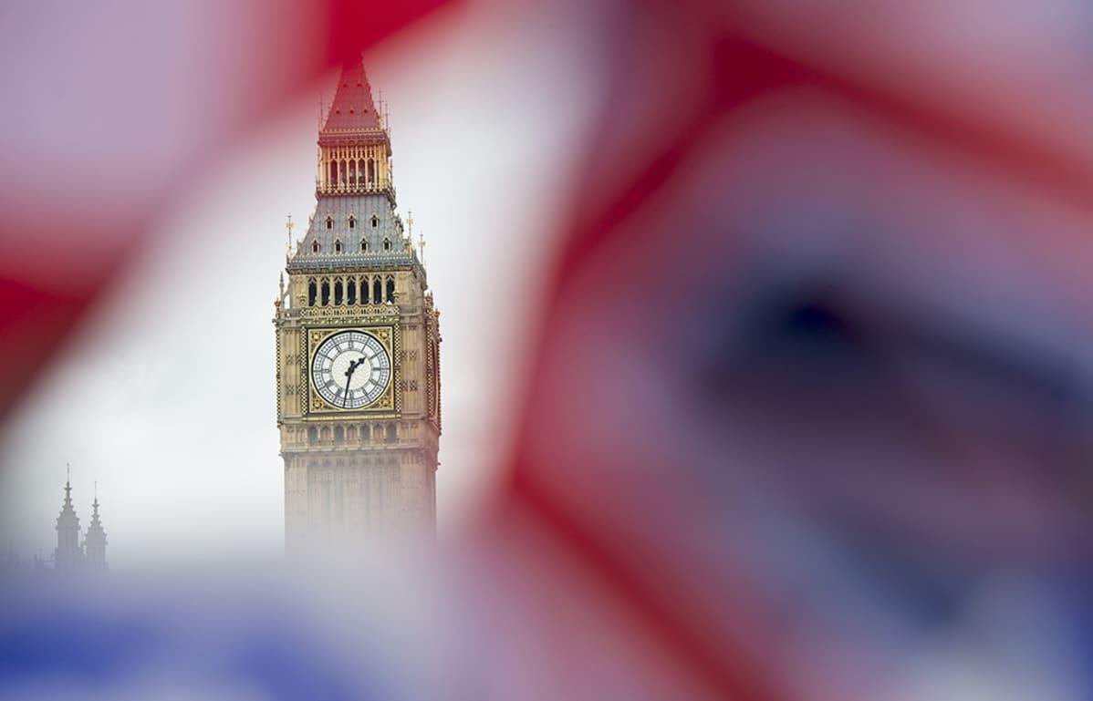 Big Ben kuvattuna Lontoossa 22. kesäkuuta 2016.
