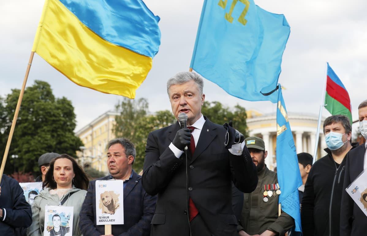 Ukrainan entinen presidentti Petro Poroshenko