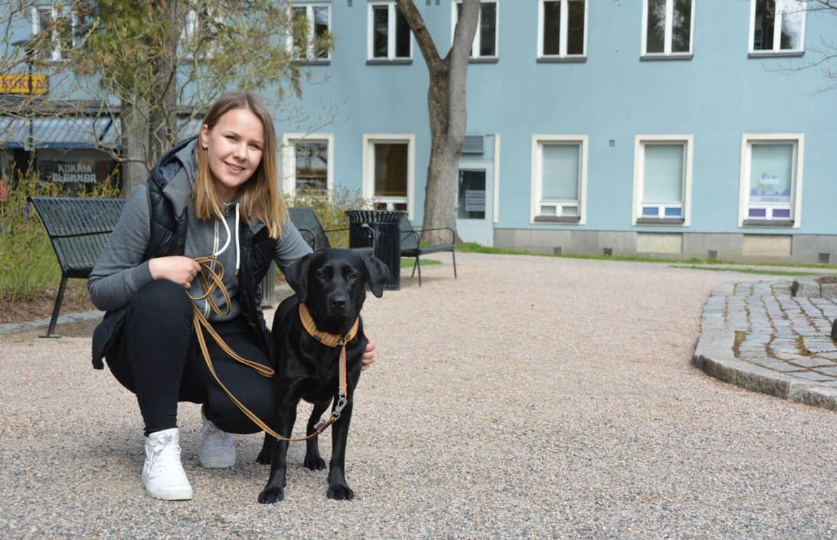 Selina Saimala ja Liekki.