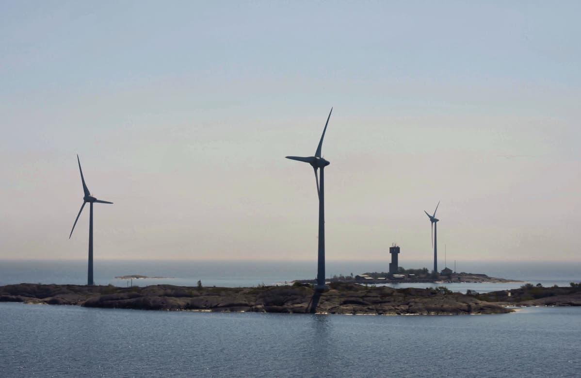 Tuulivoimapuisto.