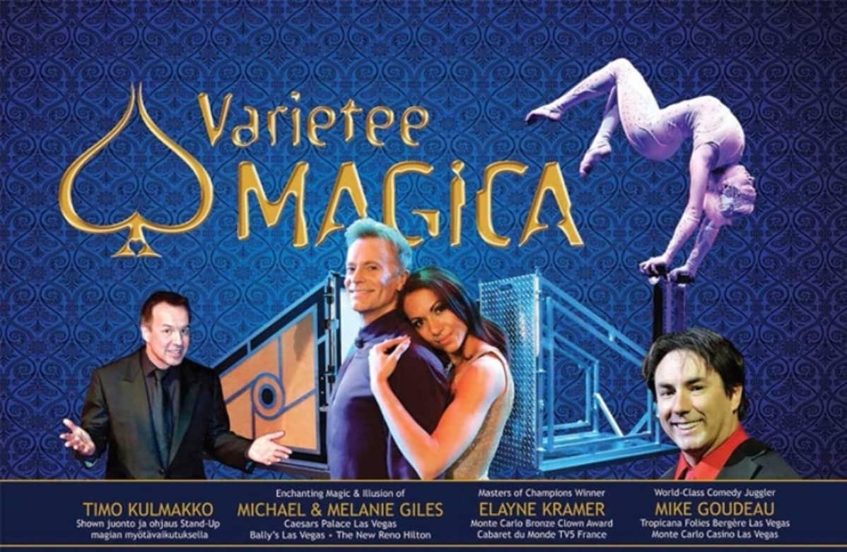 Varietee Magica -shown juliste