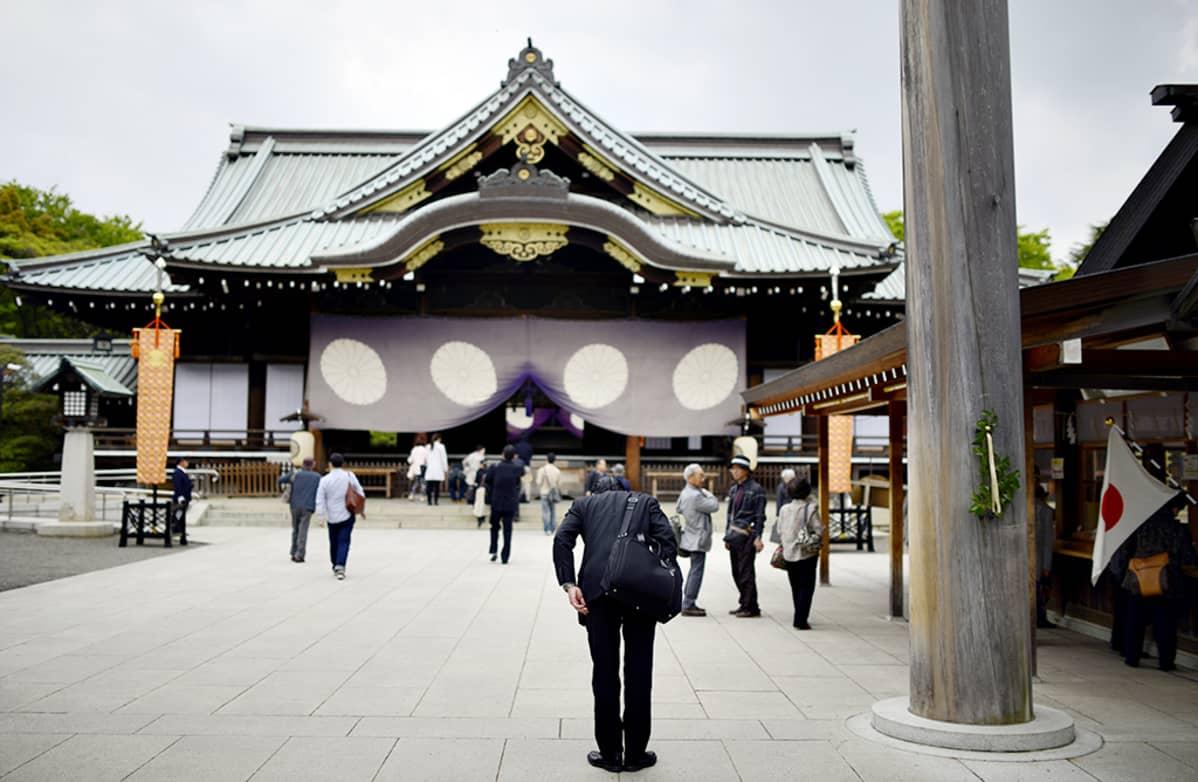 Yasukunin pyhättö.