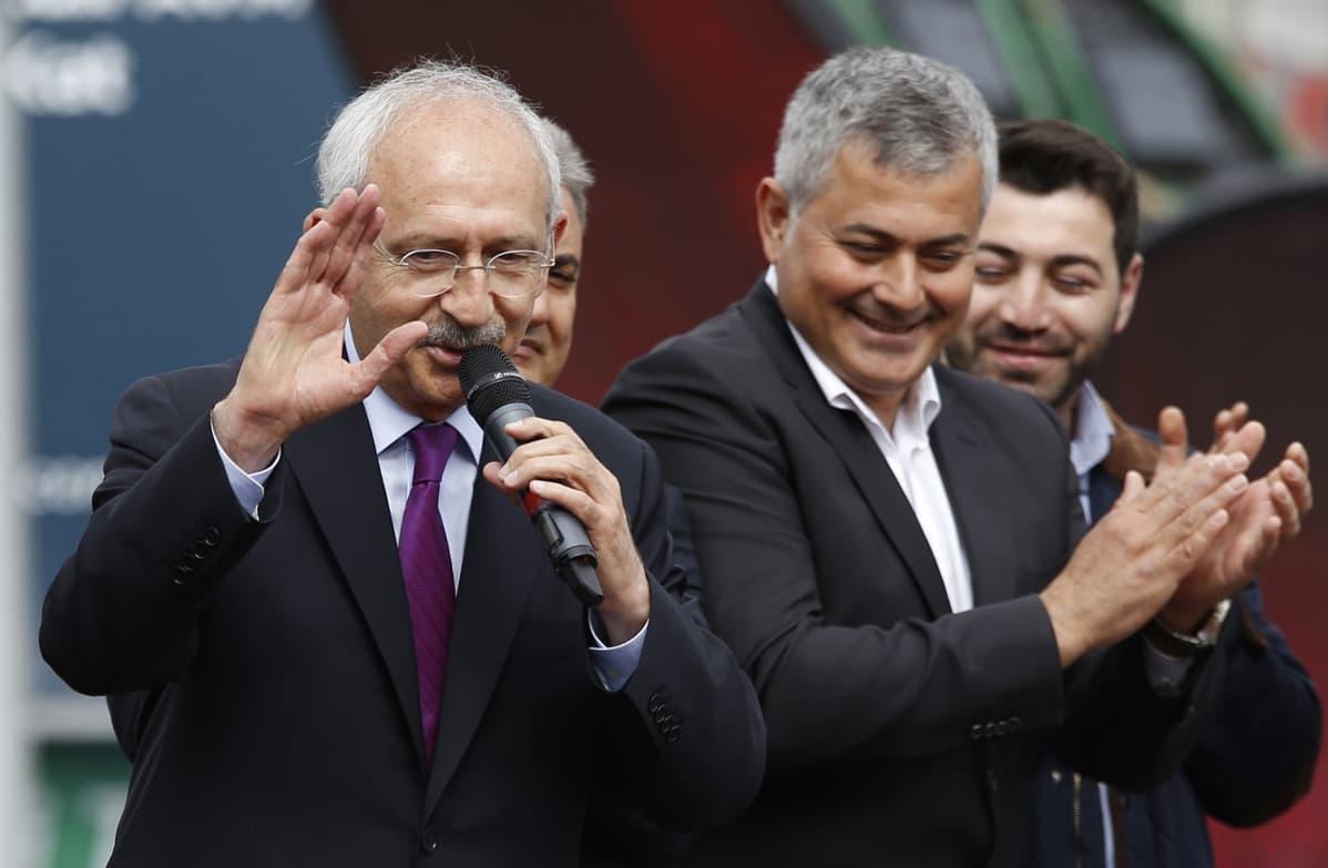 Turkin oppositiopuolueen CHP:n johtaja