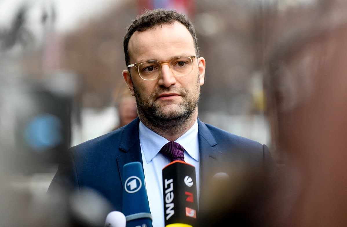 Terveysministeri Jens Spahn