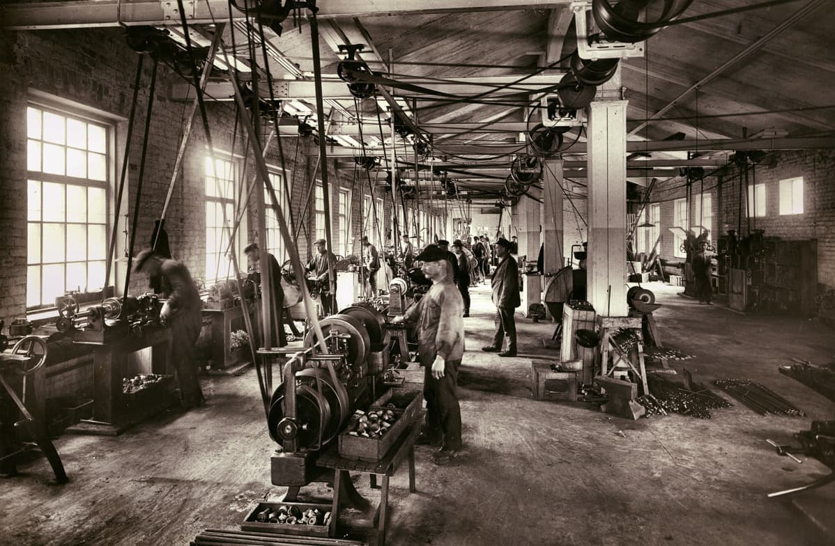 Högforsin konepajaa 1922