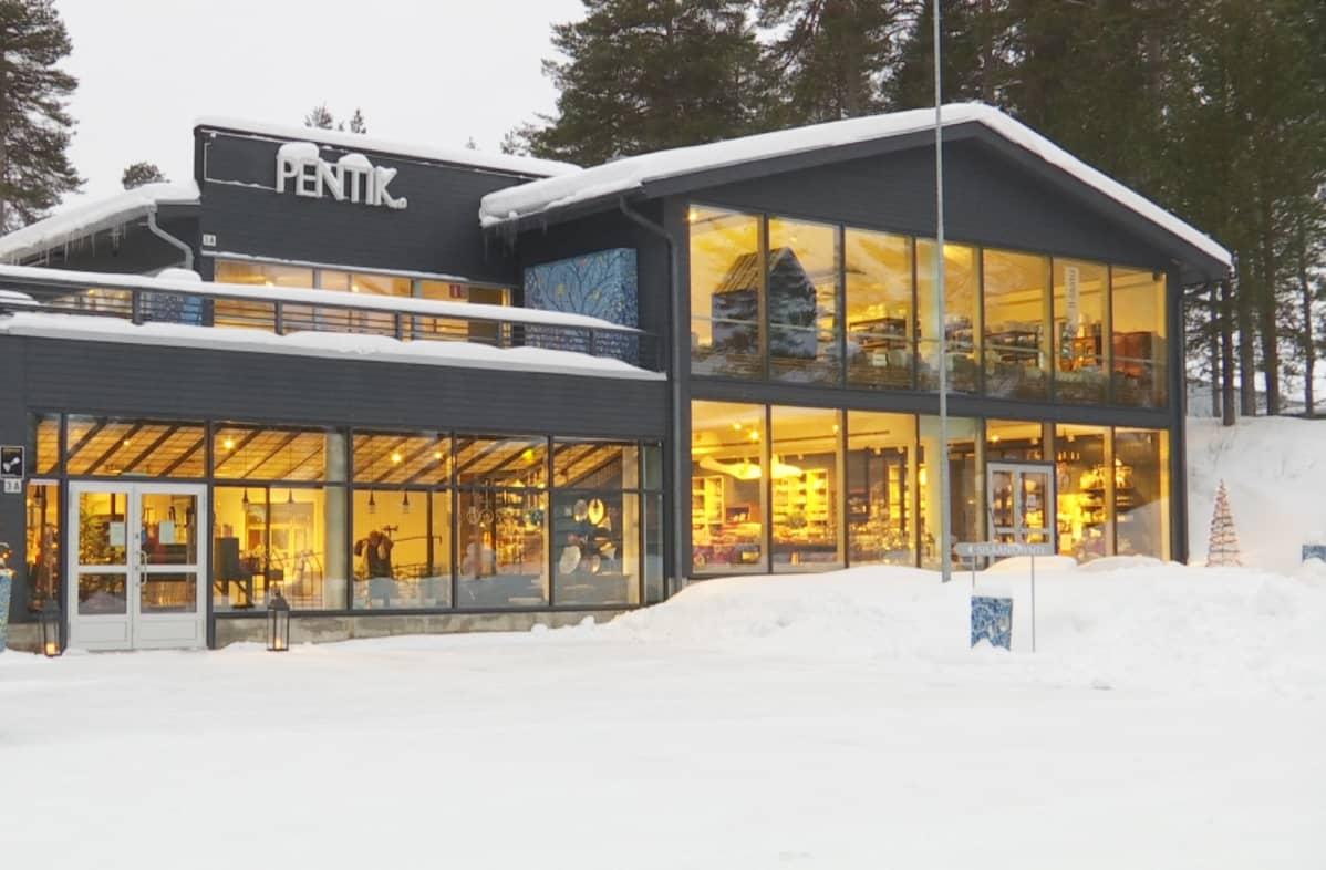 Posion Pentik -myymälä.