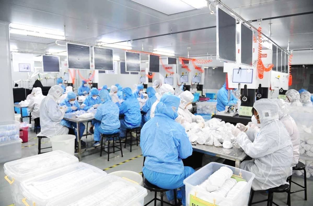 Lifa Airin tehdas Dongguanissa.
