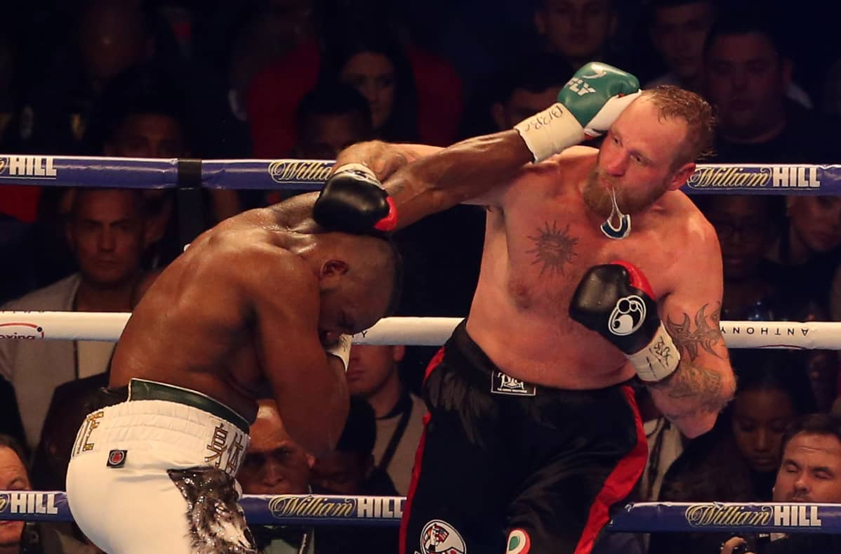 Dillian Whyte, Robert Helenius
