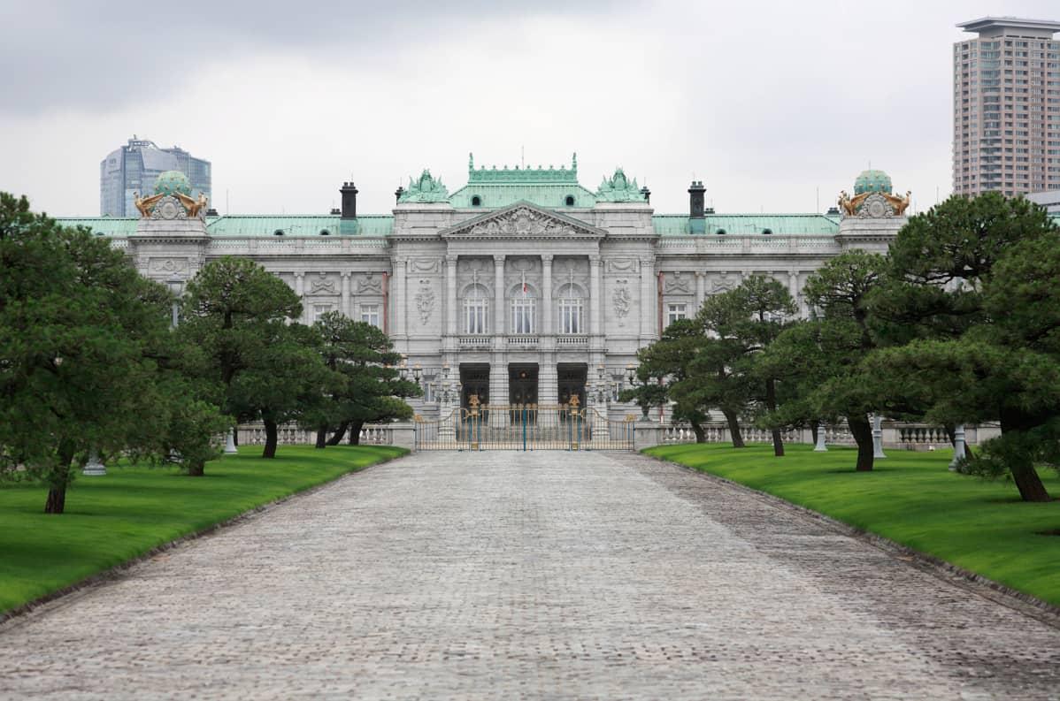 Akasakan palatsi Tokiossa.