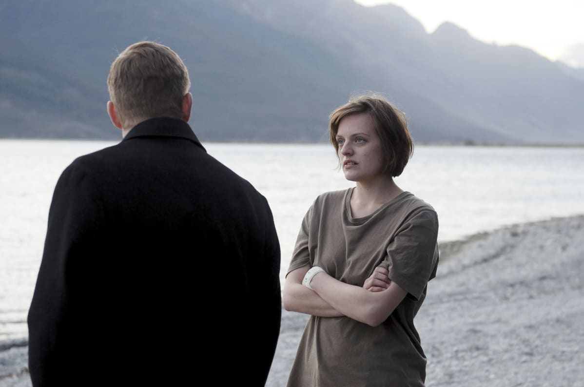 Elisabeth Moss Top of the Lake -sarjassa.