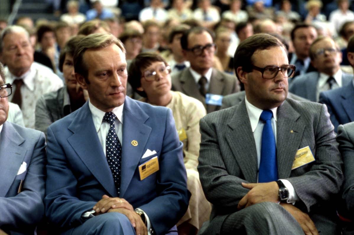 Harr Hokeri ja Ilkka Suominen vuonna 1979