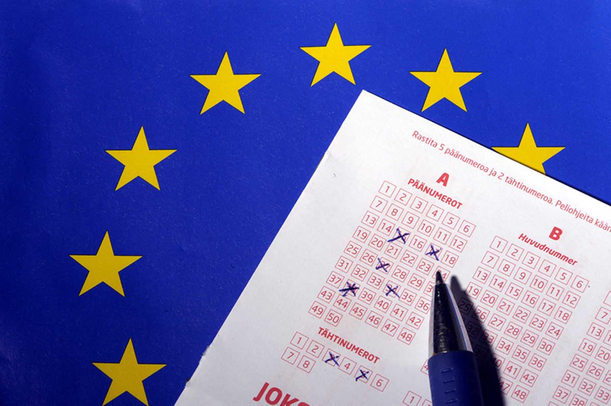 Eurojackpot -kuponki.