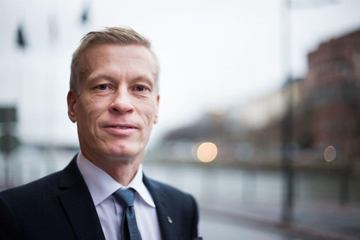 Professori Kaarle Hämeri, HY, professoriliiton pj