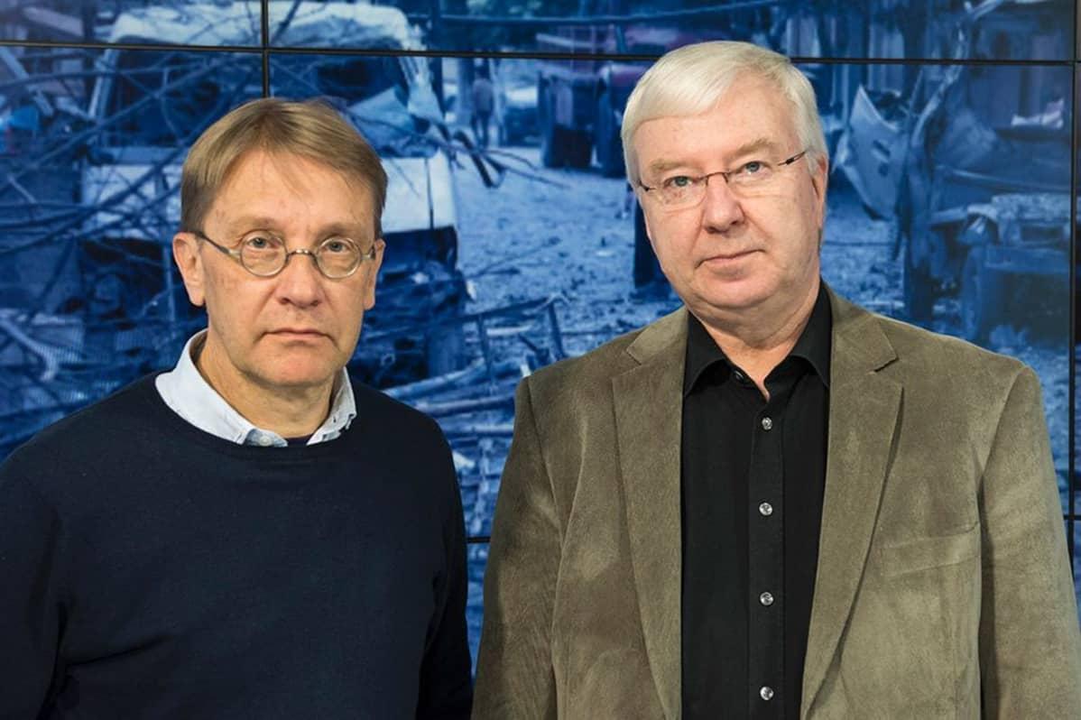 Tom Kankkonen ja Reijo Lindroos