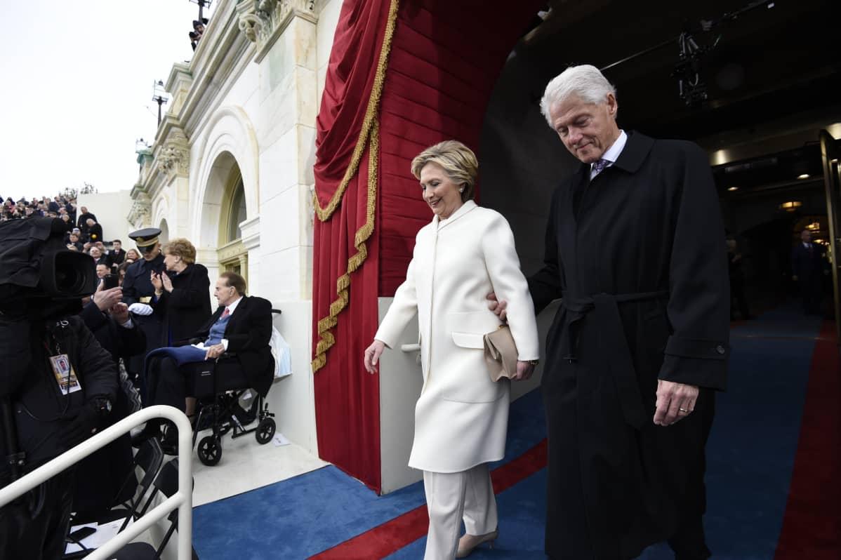 Hillary ja Bill Clinton