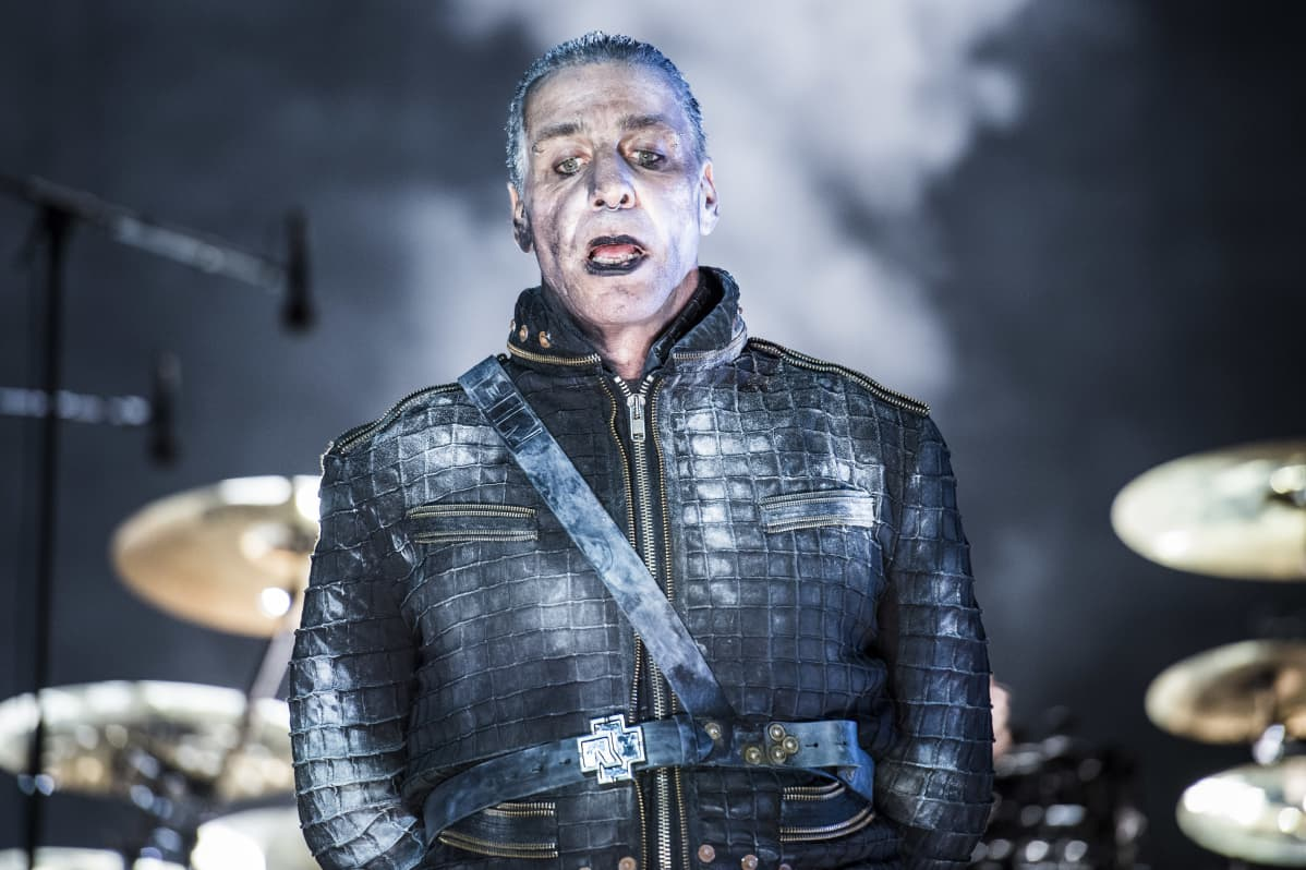 German rock band RAMMSTEIN performs live on stage at Italian Gods of Metal in Monza