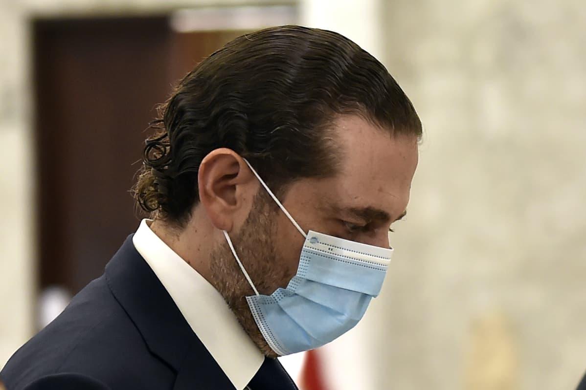 Saad Hariri Beirutissa tänään, saapumassa tapaamaan presidentti Aounia.