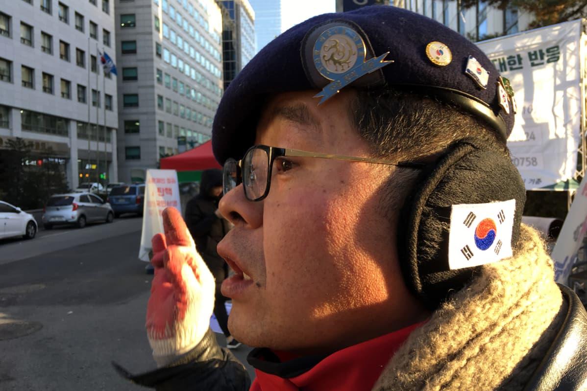 Aktivisti Kim Sang-jin