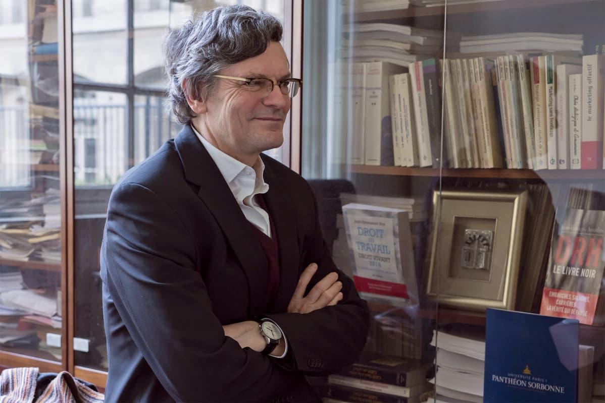 Sorbonnen yliopiston professori Jean-François Amadieu.