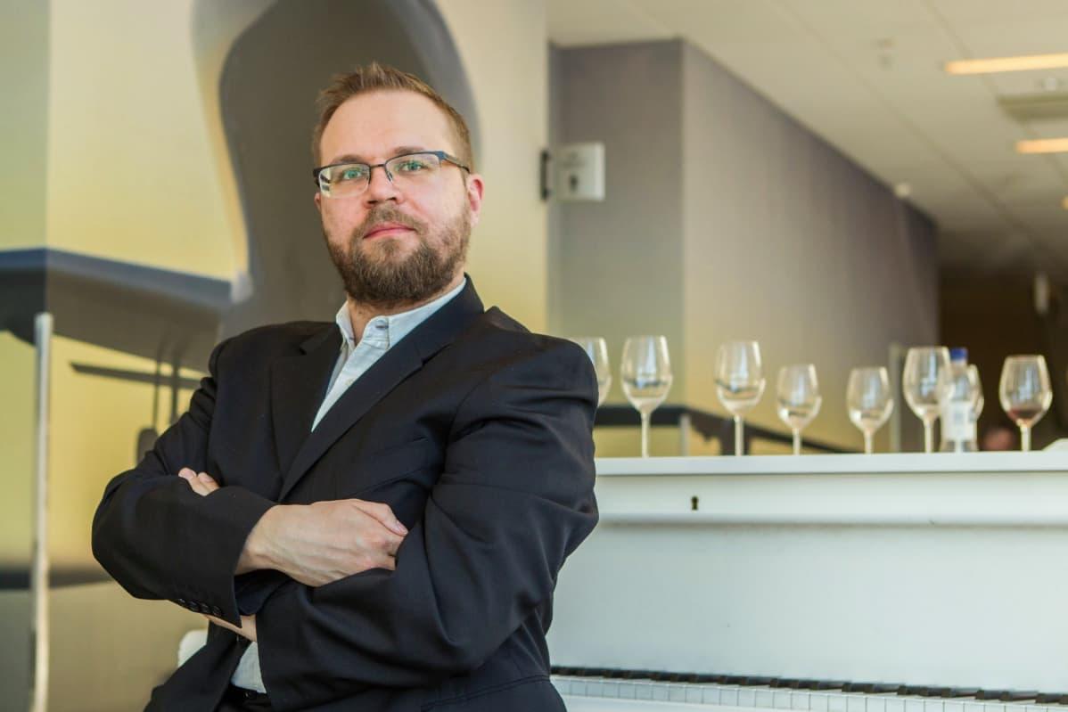Tutkija Antti Maunu.