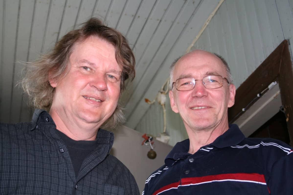 Jukka Mäkinen ja Heikki Luoma