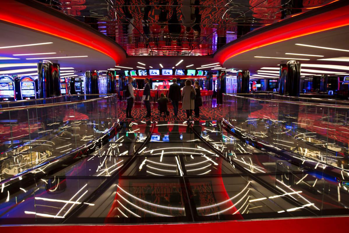MSC Meraviglian kasino.