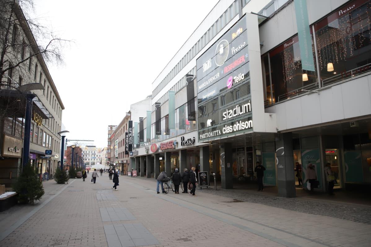 Sokos Jyväskylän Kappakadulla.