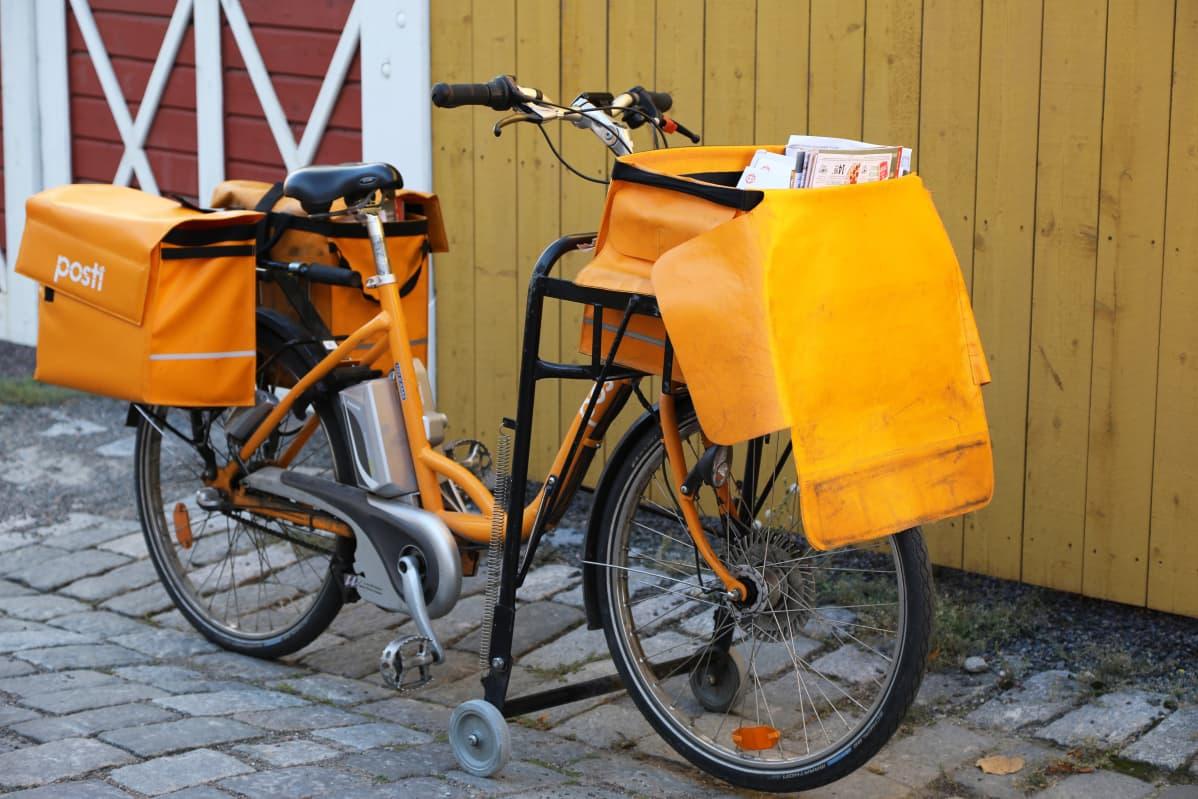 Postin pyörä