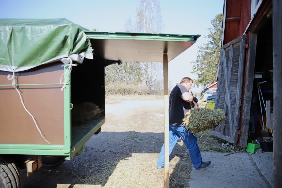Raikko Rinteelä on ollut mukana hankkeessa kolmisen viikkoa.