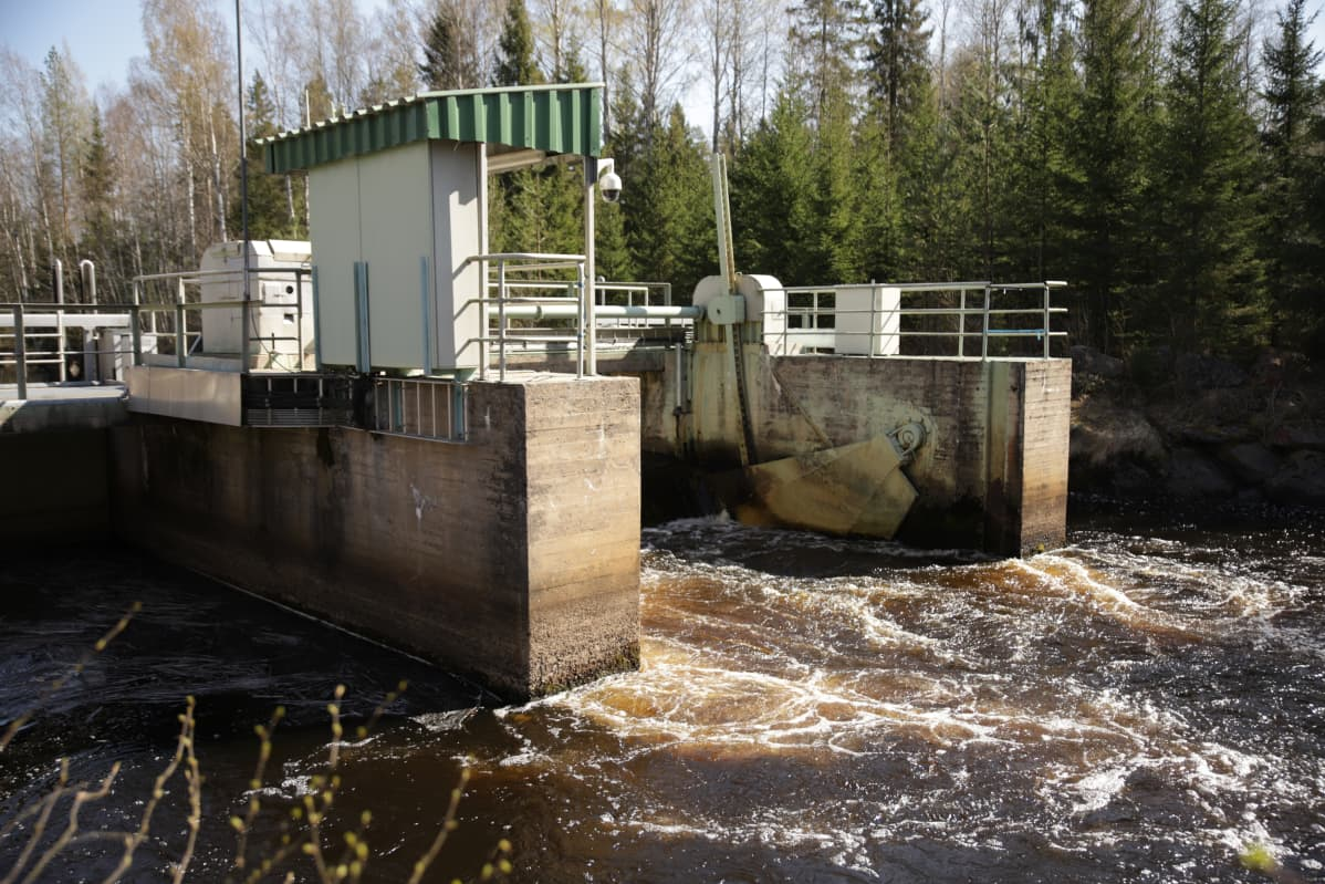 Vesivoimala Evijärvi