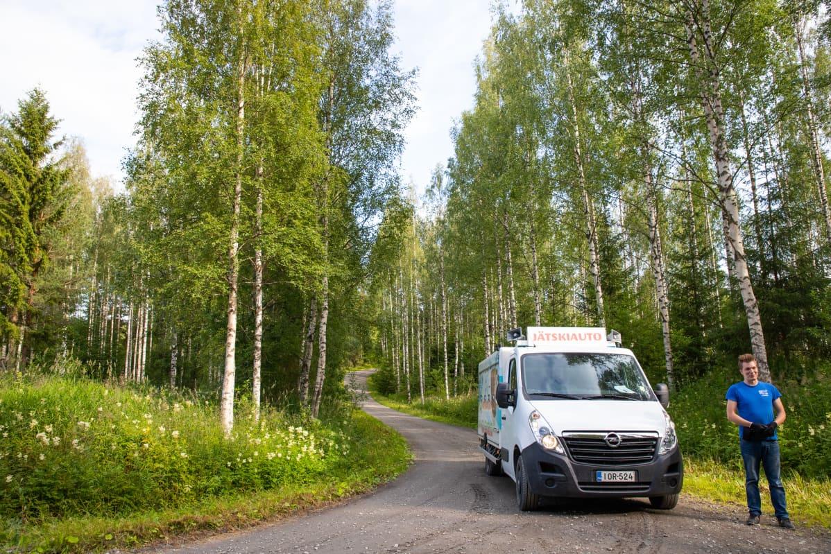Hiljainen pysähdys Kuopion Kaislastenlahdessa.