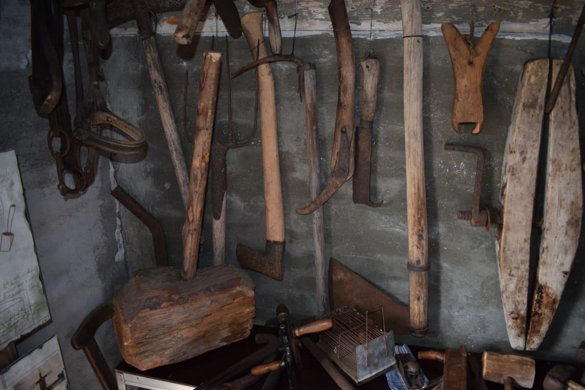 Evan museo sisältä