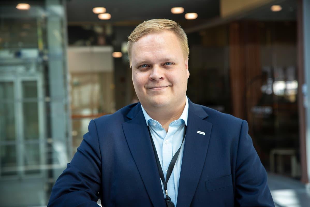 Kuopion Nordean toimipaikan johtaja Jari-Pekka Raatikainen.