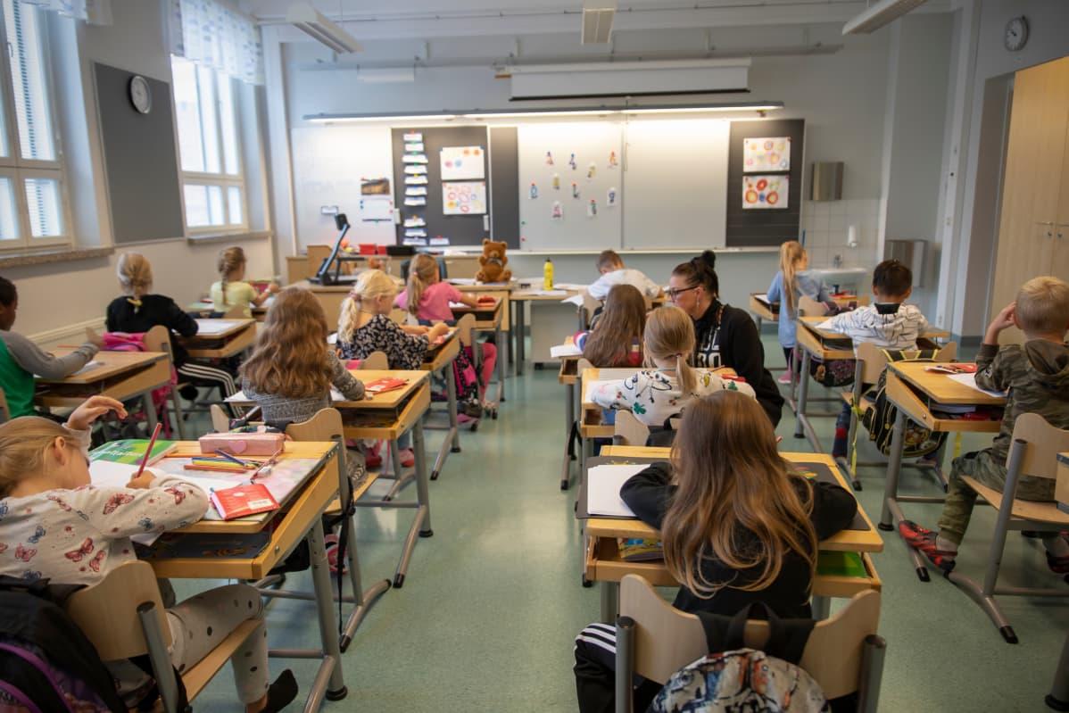 koululuokka Lapuan alakoulu