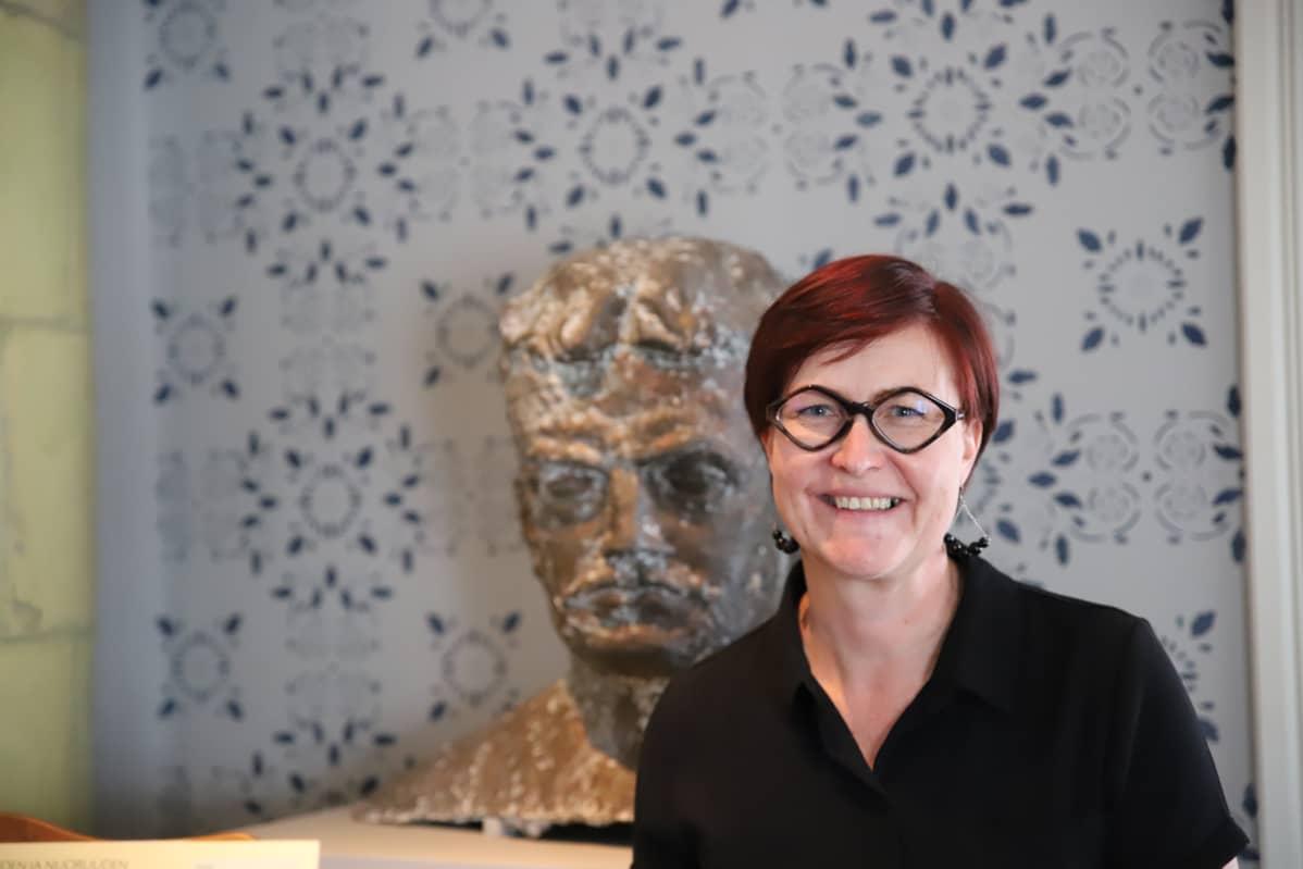 Hämeenlinnan kaupunginmuseon museonjohtaja Tuulia Tuomi