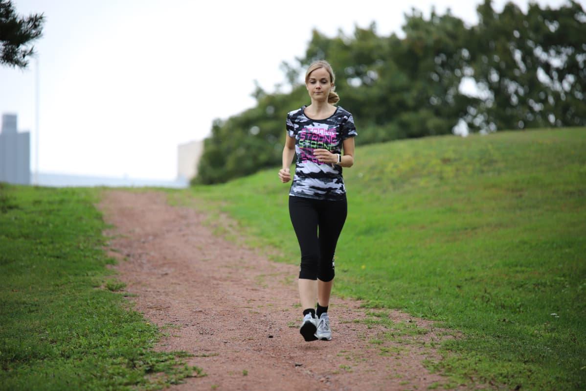 Fitnessmittari innosti aloittamaan juoksuharrastuksen uudestaan.