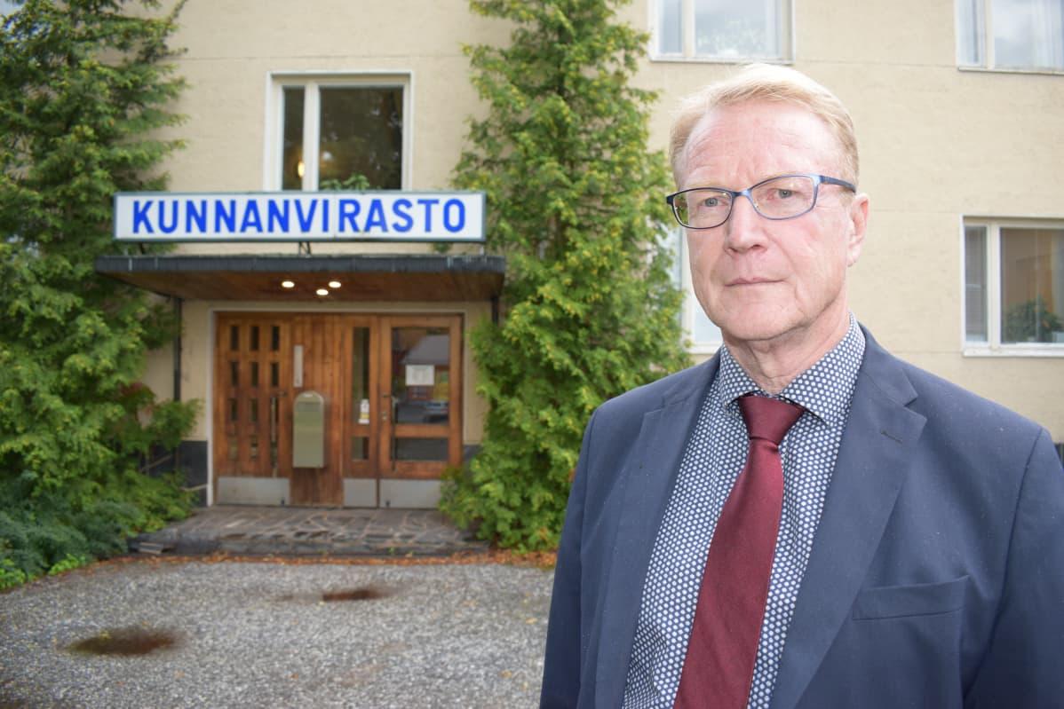 Pyhärannan kunnanjohtaja Harri Hiitiö